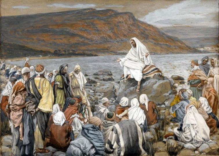 2Brooklyn_Museum_-_Jesus_Teaches_the_People_by_the_Sea_(Jésus_enseigne_le_peuple_près_de_la_mer)_-_James_Tissot_-_overall (1)