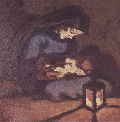 Albin Egger-Lienz, Madonna and Child