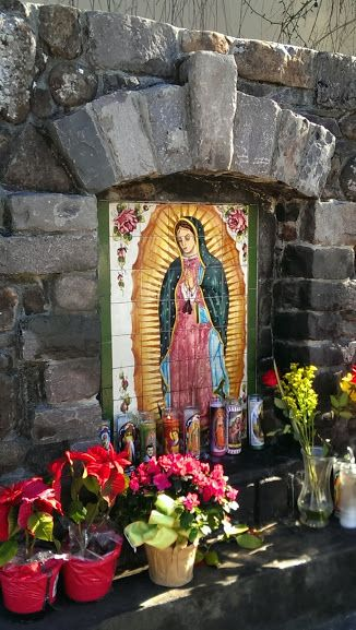 Our Lady of Guadalupe shine in Healdsburg, California