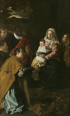 Adoration of the Magi by Velazquez