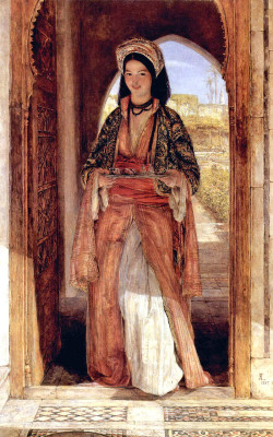 The Coffee Bearer by John  Frederick Lewis